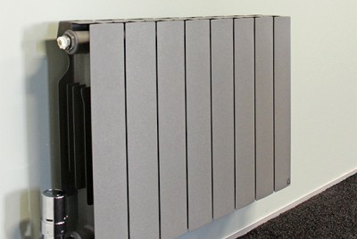 Plus Aluminium Radiator Grey 13